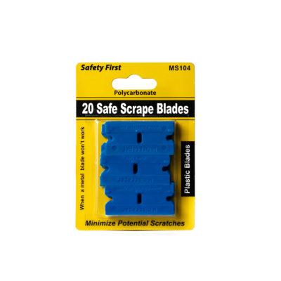 Polycarbonate Plastic Razor Blades
