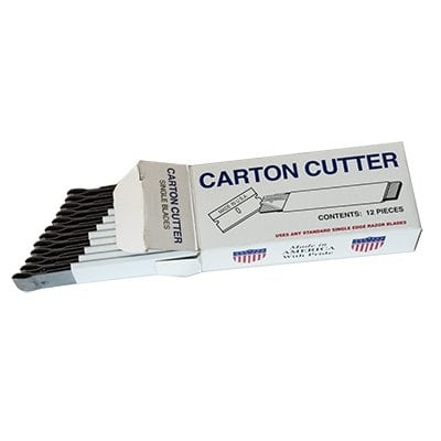 Carton Cutters Box of 12