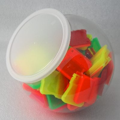 Point of Purchase Plastic Container