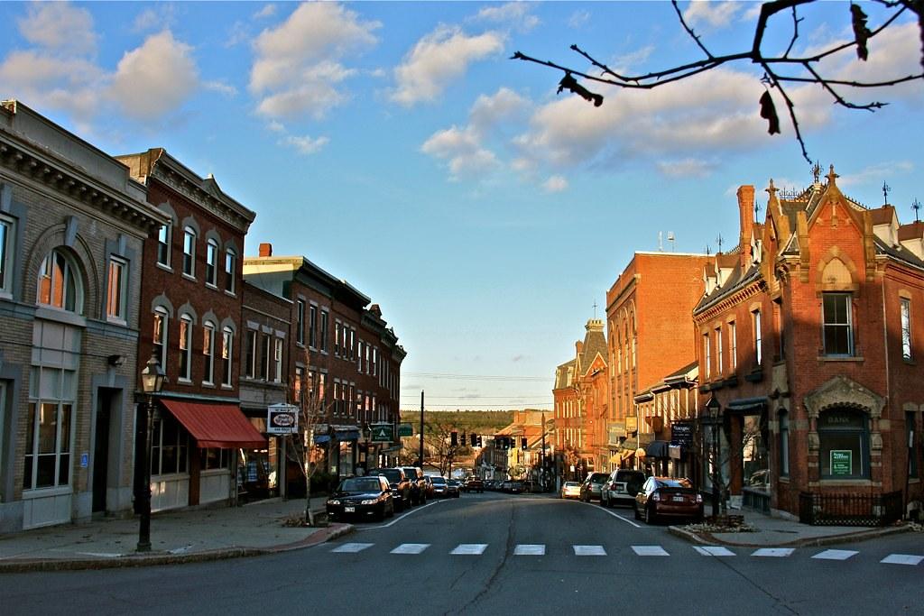 Downtown Belfast Maine