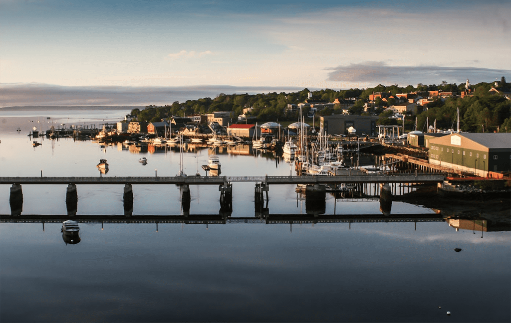 Belfast Maine Waterfront